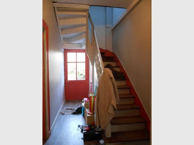 L'escalier était un peu vieillot