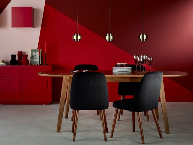 tendance peinture 2018 osez la couleur rouge. Black Bedroom Furniture Sets. Home Design Ideas