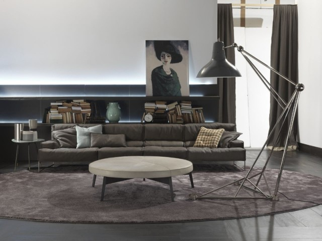 Living room|Modern Grey art deco style