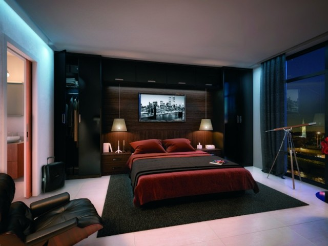 am nagement original mon lit dans une alc ve. Black Bedroom Furniture Sets. Home Design Ideas
