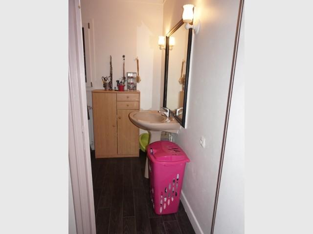 Le lavabo était vieillot et mal optimisé