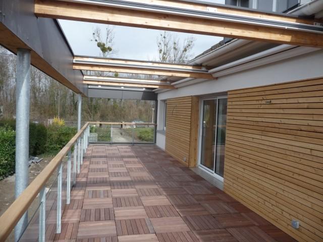 Après : du bois pour une terrasse chaleureuse