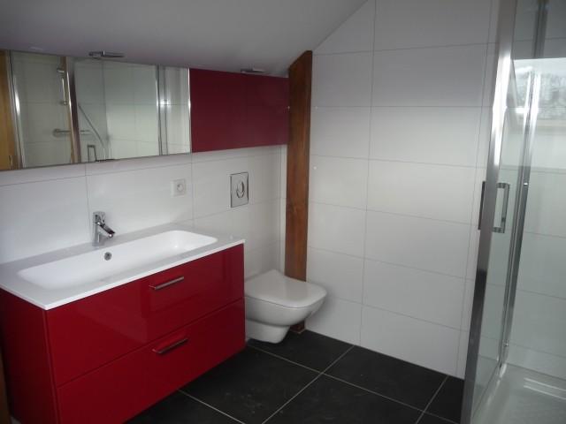 Après : Une salle de bains d'appoint
