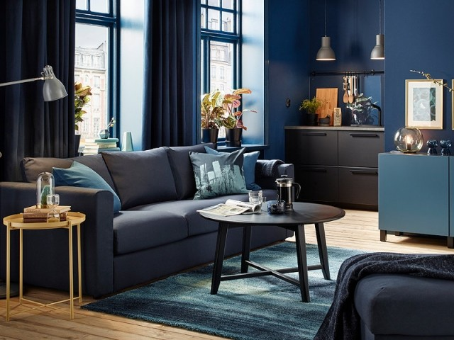 10 d co bleu marine pour votre maison. Black Bedroom Furniture Sets. Home Design Ideas