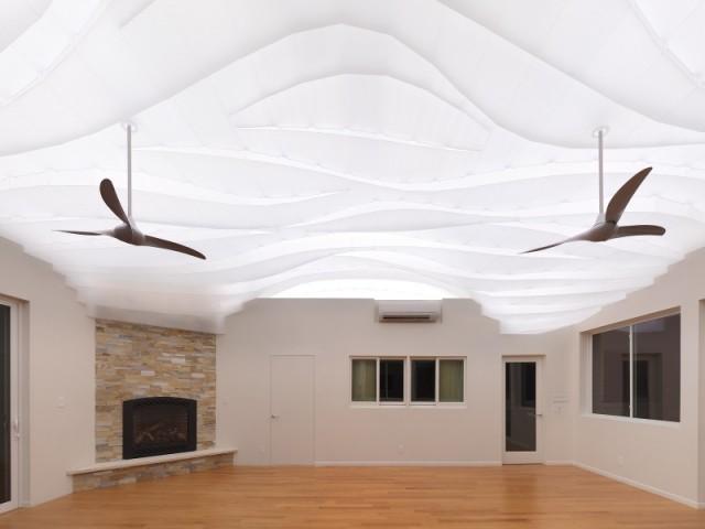 Un plafond lumineux pour un maximum de détente