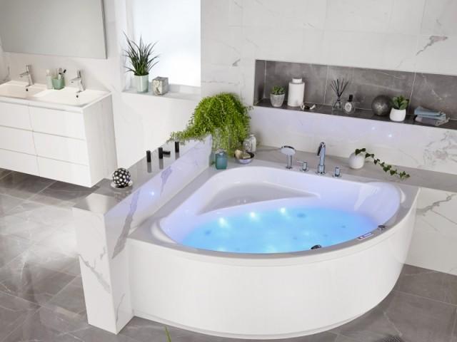 Une baignoire comme un espace à part entière