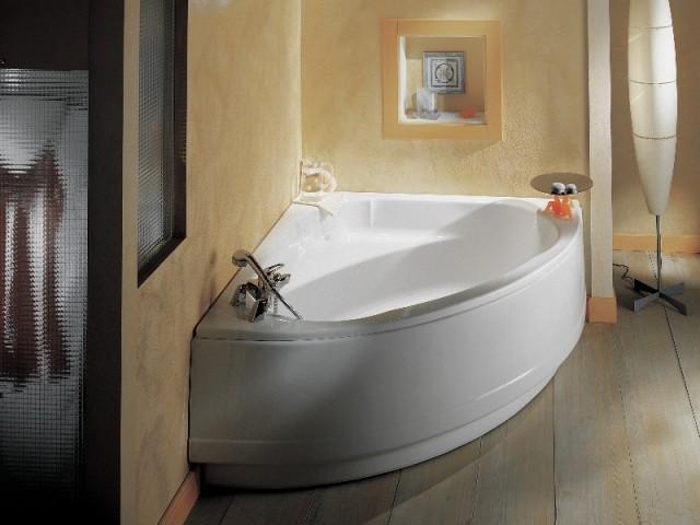 Une baignoire pour combler un angle mort