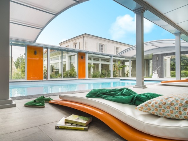 abri piscine design fabulous choisir son abri piscine
