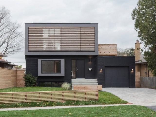 Flipped House, la maison aux espaces inversés