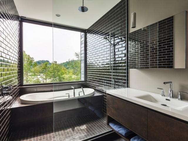 La baignoire bénéficie d'un panorama exceptionnel