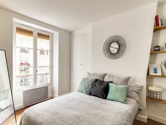 Une chambre au style scandinave