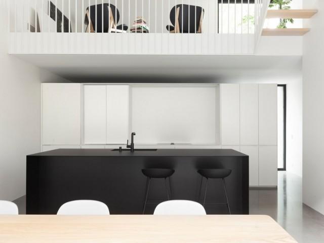 Une cuisine qui mise sur le minimalisme
