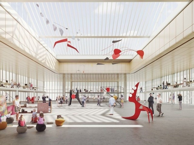 Un premier étage pour la culture - Maison du Peuple à Clichy