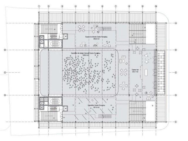 L'espace culturel modulaire - Maison du Peuple à Clichy
