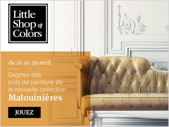 Gagnez des pots de peinture Little Shop of Colors