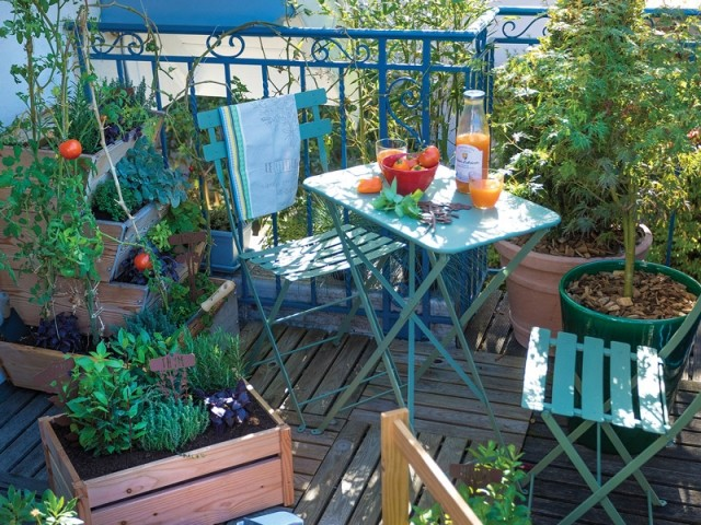 10 idées inspirantes pour faire de son balcon un petit coin de verdure