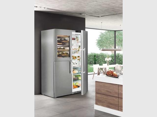 Le réfrigérateur SBSES 8486 de Liebherr