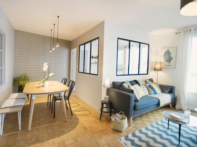 avant apr s une chambre en plus gr ce une double verri re. Black Bedroom Furniture Sets. Home Design Ideas