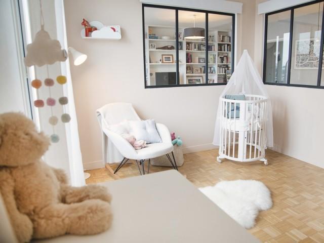 Une chambre de bébé pleine de douceur
