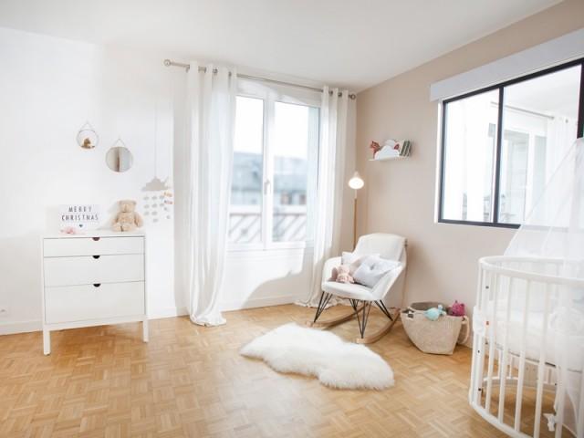 Une chambre prête à accueillir bébé