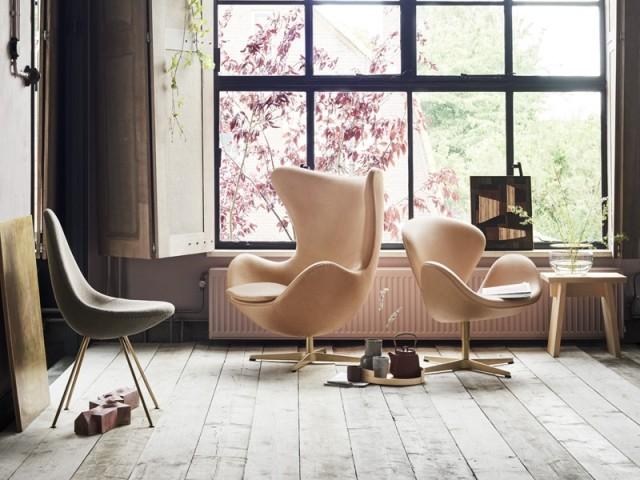 Hommage au designer Arne Jacobsen dans une exposition signée Fritz Hansen