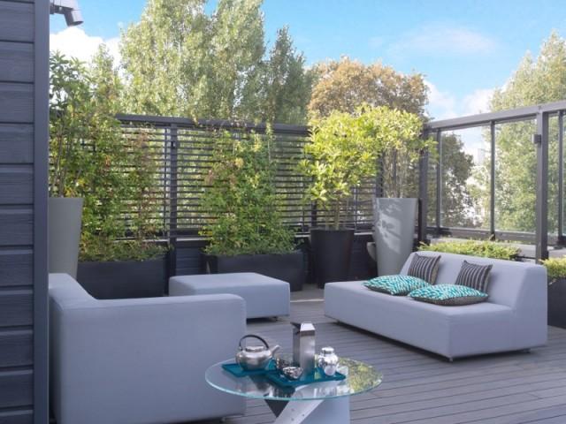 Une terrasse avec vue sur la Seine...