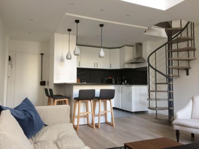 Après : un espace cuisine pratique et fonctionnel