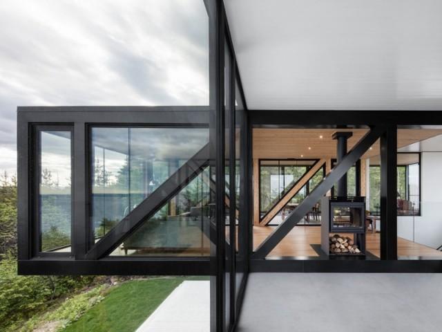 Chalet Blanche, une maison avec vue panoramique à 180°