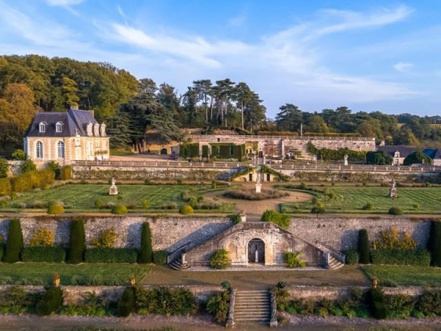Château de Valmer à Chançay, Indre-et-Loire