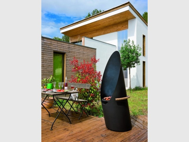Un barbecue ultra-design baptisé Diagofocus