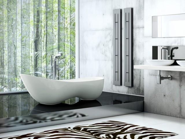 Une baignoire qui invite à la détente