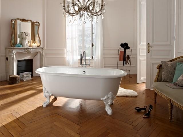 Une baignoire au style baroque affirmé