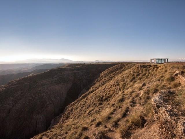 Un désert européen pour installer la maison de verre - Casa del Desierto
