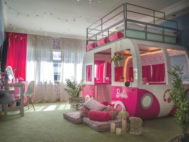 Une chambre Barbie à l'Hôtel Hilton de Buenos Aires