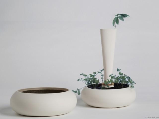 L'eco-pebble est un objet qui permet de composter facilement ses déchets à la maison