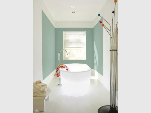 utiliser la peinture pour d limiter un espace 10 images. Black Bedroom Furniture Sets. Home Design Ideas