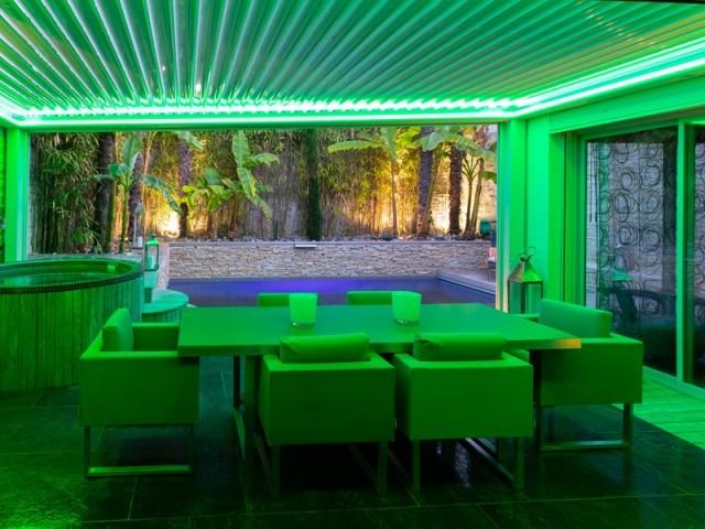 Un éclairage de couleur pour créer des ambiances lumineuses
