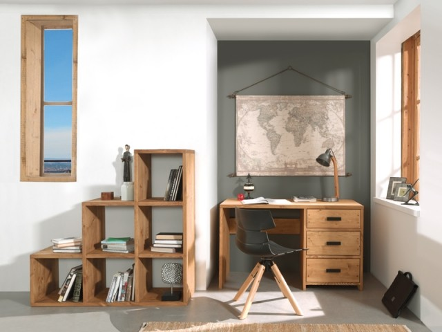 am nager un bureau dans un petit espace 20 id es fut es. Black Bedroom Furniture Sets. Home Design Ideas