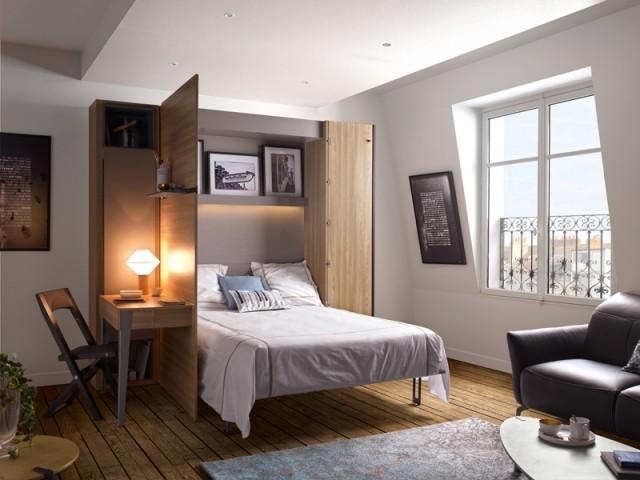 Armoire-lit avec console extensible, Gautier, prix : à partir de 4.032 €