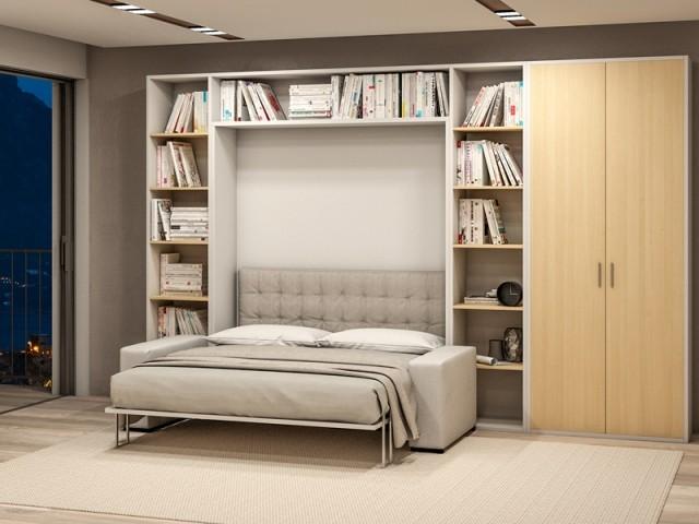 Armoire-lit composée du canapé Allure, Convertible contemporain, prix : à partir de 2.740 €
