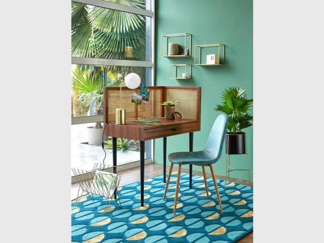 Une chaise rétro aux allures Art déco - Lot de 2 chaises Lavergne, 118 €