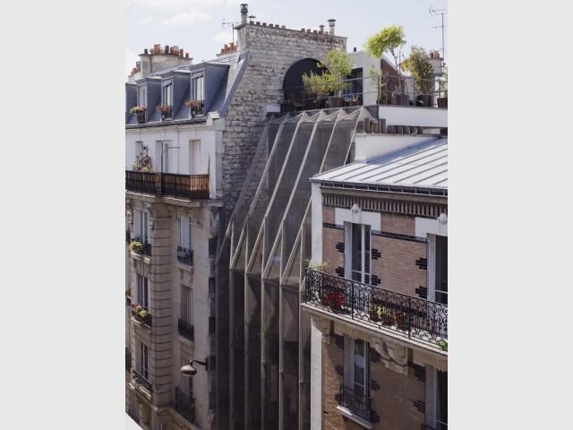 L'architecture moderne se marie bien avec le voisinage