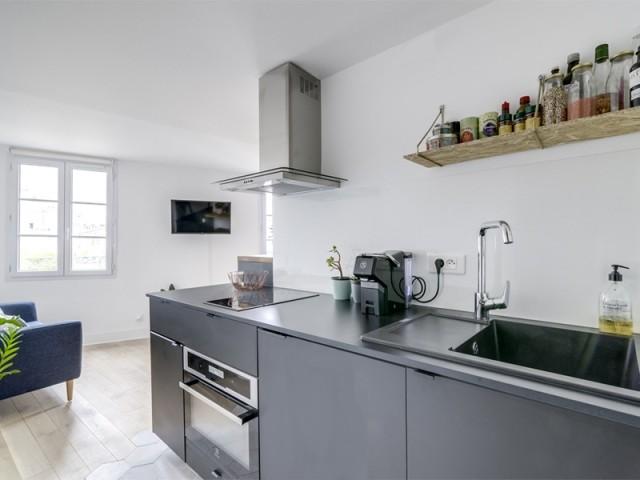 Après : une cuisine moderne tout confort