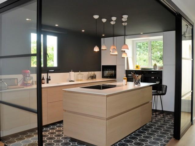 Une cuisine agrandie et lumineuse