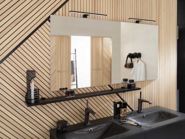 Un bardage intérieur pour donner du coffre à sa salle de bains