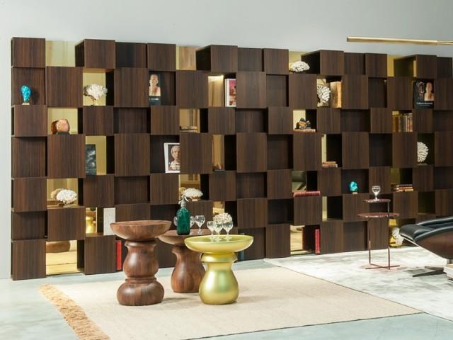 Une bibliothèque pixellisée pour le plaisir des yeux