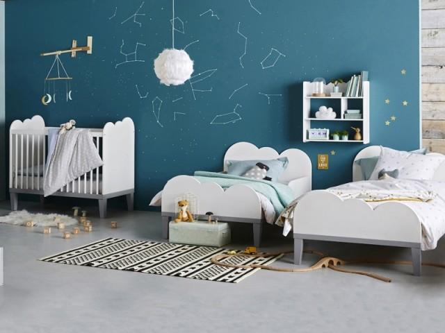 Trois petits lits sur-mesure pour que chacun trouve sa place