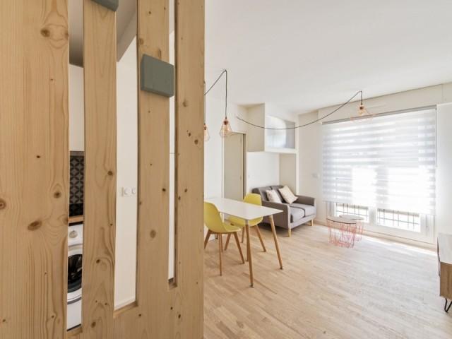 Un appartement qui gagne en lumière