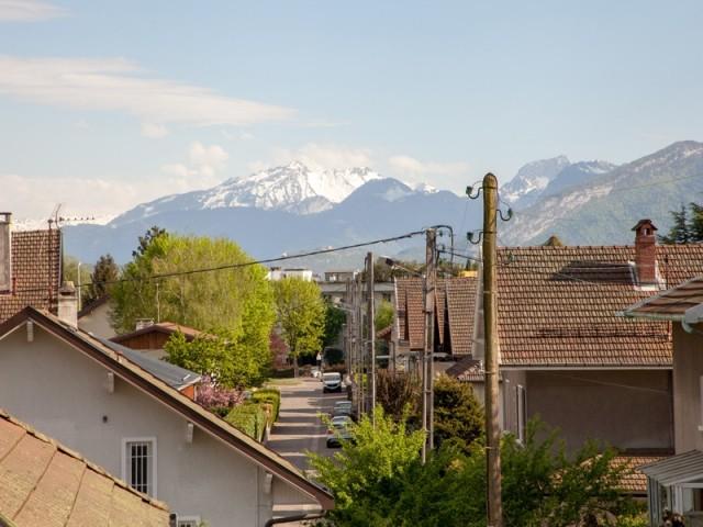 Une vue privilégiée sur les Alpes