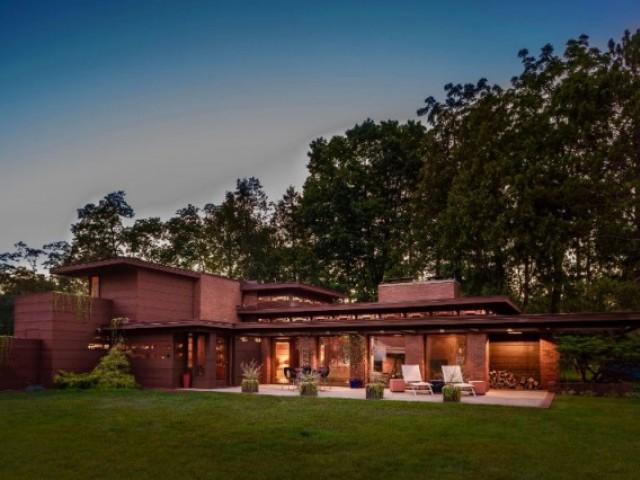 Maison Schwartz par Frank Lloyd Wright - Two River